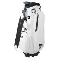 アディダスゴルフ(adidasGolf)マットPUライトスタンドキャディバッグ/ホワイト