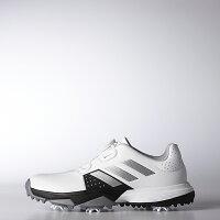 アディダスゴルフ(adidasGolf)JradipowerBoa/ジュニアアディパワーボア/ホワイト/シルバーメタリック
