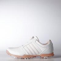 アディダスゴルフ(adidasGolf)ウィメンズアディピュアボア/ホワイト/ベイパーピンク