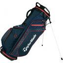 テーラーメイドゴルフ(TaylorMade Golf) キャリーライト 4WAY スタンドバッグ/ネイビー/レッド