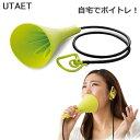 ウタエット UTAET #グリーン プロイデア 防音マイク ボイストレーニング (送料無料)