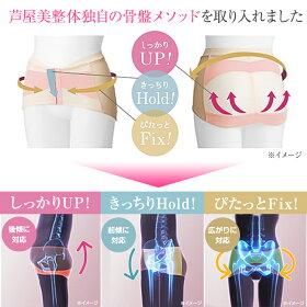 【送料無料】芦屋美整体骨盤スッキリベルト/2枚セット
