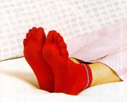 老人 靴下 介護服 あかたび[オールシーズン用] (介護用品 介護 )(シニア 高齢者 男女 おじいちゃんおばあちゃん 祖父母 メンズ 老人)