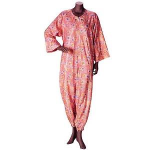 老人 パジャマ 介護用パジャマ つなぎ フドーねまき1型[厚手]介護服 介護 パジャマ 介護用品(シニア 高齢者 男女 おじいちゃんおばあちゃん 祖父母 メンズ 老人)