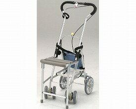 附帶彗星標記椅子的H040銀子汽車、手推車老人tc-mart(供銀子汽車手推車老人購物推車上級汽車銀子推車護理用品手推車漂亮的4輪老年人使用的老人事情)
