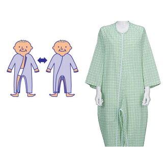 供護理使用的睡衣間接Fudow睡衣3型[三季節]護理服護理睡衣護理用品(護理用品護理睡衣pajama睡衣睡衣)