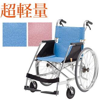 以超輪椅輕便折疊輪椅折疊式鋁輕,便於 itablet [援助制動] (輪椅輪椅輪椅座位寬度尺寸的折疊折疊時尚旅行關心老人老年輪椅高級用品)