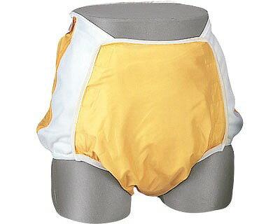 Wカバー スタンダード 透湿タイプ11155 3L オレンジ(介護用品 肌着 高齢者 老人 下着 失禁用 失禁パンツ 尿漏れ おむつカバー )