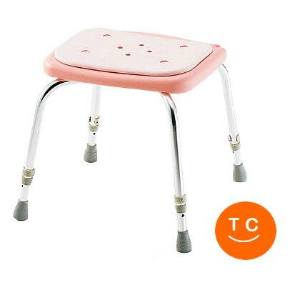 背なしシャワーイスSC-11[ピンク] 松永製作所 シャワーチェア 介護用品 お風呂いす 椅子 イス シャ...
