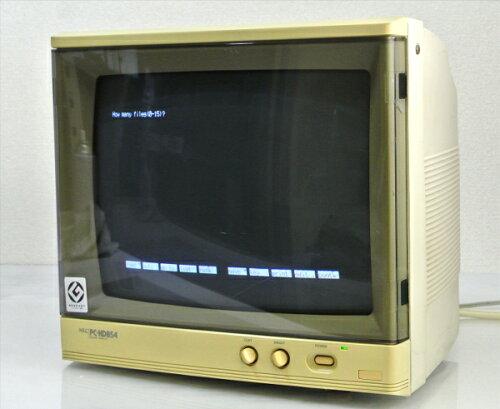 NEC PC-KD854 PC-9801シリーズ対応 14インチモニタ