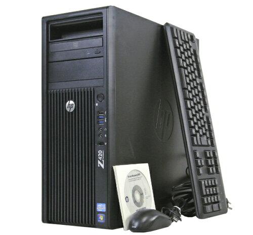 hp Z420 XeonE5-1620-3.6GHz/8GB/500GB/DVD/Quadro2000/Win7