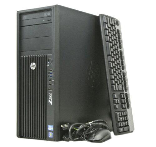 hp Z420 Xeon E5-1620-3.6GHz/16GB/500GB/MULTI/Quadro2000/Win7