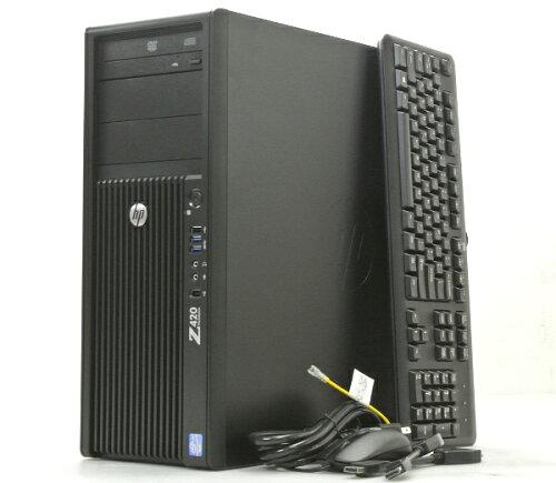 hp Z420 Xeon E5 1650v2 3.5GHz/16GB/250GB/DVD/QuadroNVS310