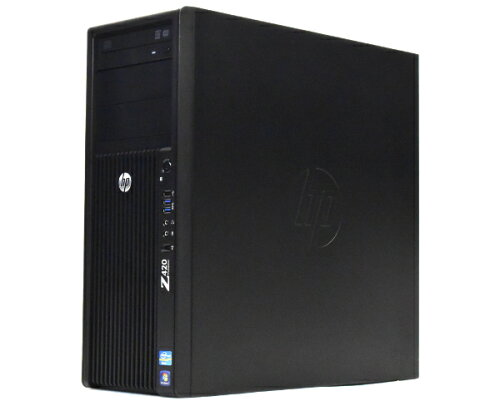 hp Z420 VGA欠 Xeon E5 1620 3.6GHz 4GB 500GB MULTI Win7 水冷