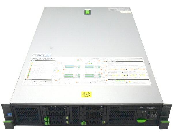 富士通 PRIMERGY RX300 S7 Xeon E5-2609 2.4GHz*2 32GB 300GBx3台 (SAS2.5インチ/6Gbps/RAID6構成) DVDマルチ AC*2 RAID 【中古】【20170407】:TCEダイレクト