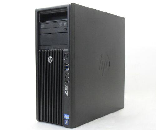 hp Z420 Xeon E5-1660 3.3GHz 16GB 500GBx2台構成 Quadro2000 DVDマルチ Windows7 Pro 64bit 【中...