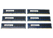 hynix6枚セット2GBPC3L-10600EDDR3ECCUnbufferedT3500/Z400等対応ML110G6/G7等対応【中古】【20170412】