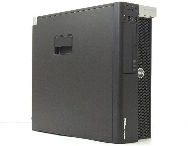 DELL Precision T3610 Xeon E5-1620v2 3.7GHz 16GB 500GB QuadroK4000 DVDマルチ Windows7Pro64bit(8Proダウングレード)  【中古】【20170501】:TCEダイレクト