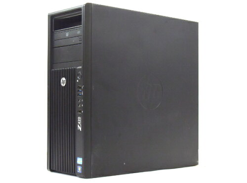hp Z420 (水冷モデル) Xeon E5-1620 3.6GHz 16GB 500GB Quadro2000 DVD-ROM Windows7Pro64bit 【中...