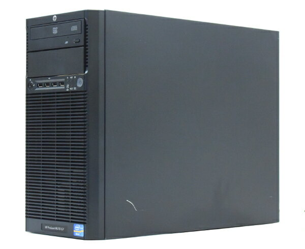 hp ProLiant ML110 G7 Xeon E3-1240 3.3GHz 16GB 300GBx2台(SAS3.5インチ/6Gbps/RAID1構成) DVD-ROM AC*2 SmartArray-P212 【中古】【20170615】:TCEダイレクト