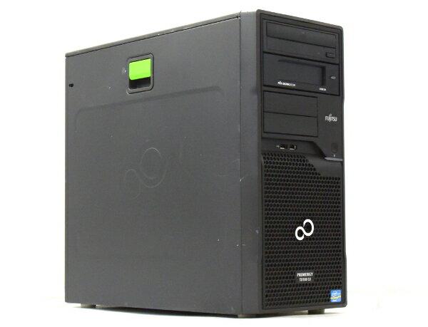 富士通 PRIMERGY TX100 S3 Xeon E3-1220v2 3.1GHz 16GB 250GBx4台 (SATA3.5インチ/RAID6構成) DVD-ROM RAID 【中古】【20170526】:TCEダイレクト