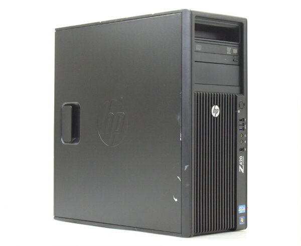 hp Z420 (水冷) Xeon E5-1660 3.3GHz 16GB 300GB (SAS3.5インチ) Quadro2000 DVDマルチ Windows7Pro64bit  【中古】【20170526】:TCEダイレクト