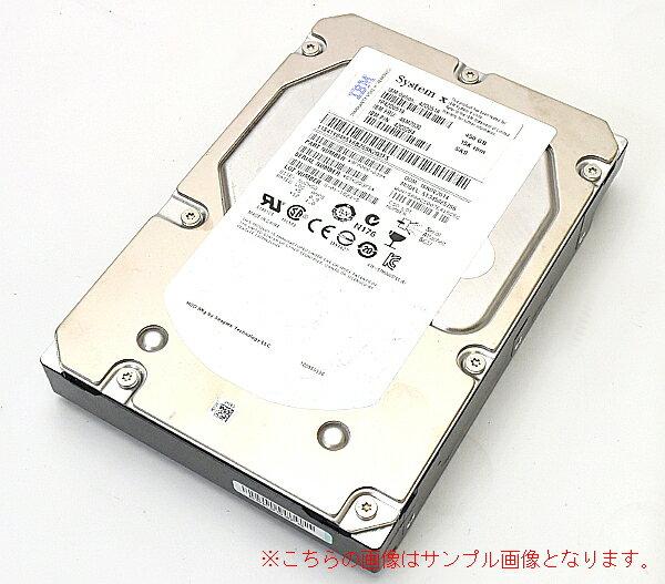 内蔵ドライブ・ストレージ, 内蔵ハードディスクドライブ IBM 46M7030 3.5 3Gbps SAS 15krpm 450GB 20170718