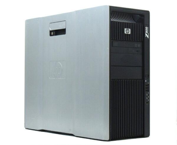 hp Z800 Xeon X5690 3.46GHz*2 24GB 450GB(SAS3.5インチ) Quadro5000 DVDマルチ Windows7Pro64bit  【中古】【20170616】:TCEダイレクト