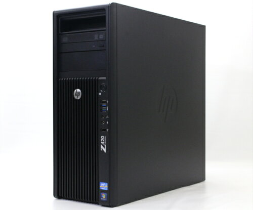 hp Z420 (水冷モデル) Xeon E5-1603 2.8GHz 16GB 500GB Quadro2000 DVD+-RW Windows7Pro64bit 【中...
