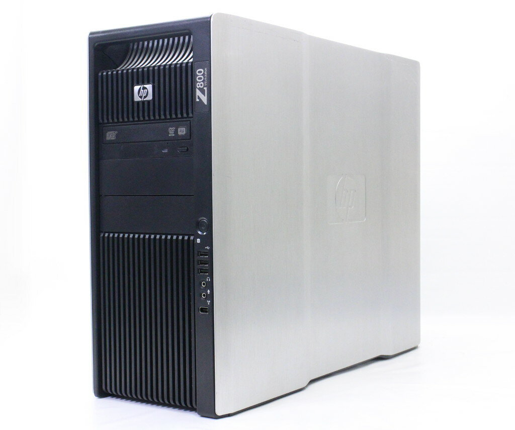 hp Z800 (水冷12コア) Xeon X5650 2.66GHz*2 24GB 1TB FireProV3800 DVD+-RW Windows7Pro64bit 【中古】【20171106】