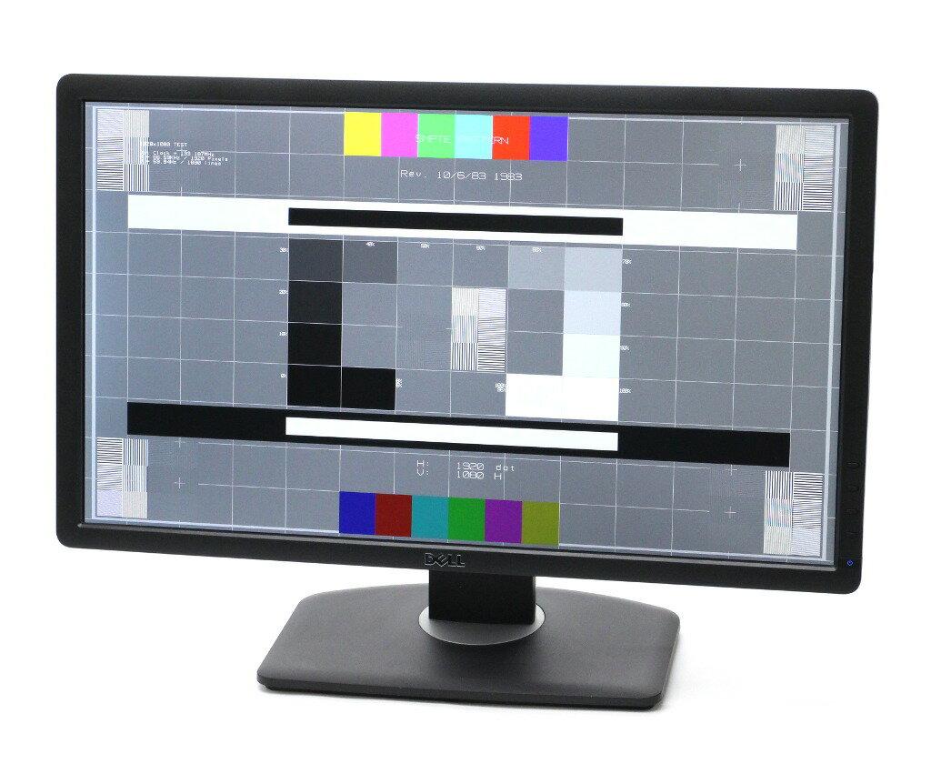 DELL U2312HM 23インチ非光沢IPSパネル フルHD 1920x1080ドット DVI-D/DisplayPort/アナログRGB入力 【中古】【20180131】