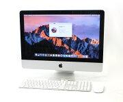 AppleiMac21.5インチCorei7-2600S2.8GHz/8GB/SSD256GB/2TB/RadeonHD6770M/1920x1080/macOSSierra10.12.1Mid2011【中古】【20180327】