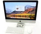 Apple iMac 21.5インチ Late 2013 Core i5-4570R 2.7GHz 8GB 1TB(HDD) フルHD 1920x1080ドット macOS High Sierra 10.13.5 【中古】【20190810】