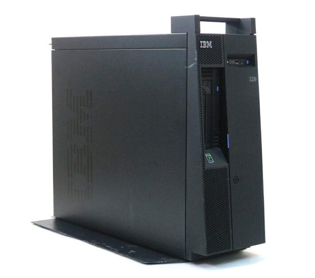 パソコン, PCサーバー・ワークステーション IBM System p 520 Power 520 Power6 4.2GHz 16GB 139GBx2(RAID1) DVD-RW AC2 20191210