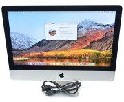 AppleiMac21.5インチMid2014Corei5-4260U1.4GHz8GB500GB(HDD)フルHD1920x1080ドットmacOSHighSierra10.13.6【中古】【20200605】