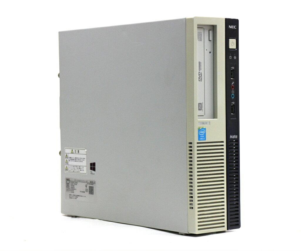 パソコン, デスクトップPC NEC Mate MJ34LL-H Core i3-4130 3.4GHz 4GB 500GB(HDD) DisplayPort RGB DVD-RW Windows10 Pro 64bit 20210106
