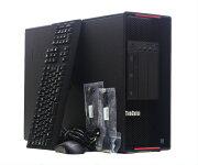 LenovoThinkStationP910XeonE5-2640v42.4GHz*264GB500GB(NVMe)2TBQuadroM2000Windows10Pro64bit新品NVMe使用【中古】【20201222】