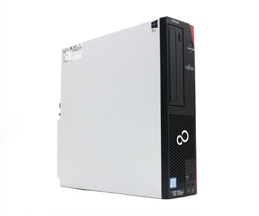 パソコン, デスクトップPC  ESPRIMO D556MX Core i3-6100 3.7GHz 4GB 256GB(SSD) DisplayPort DVI-D DVD-RW Windows10 Pro 64bit SSD 20210525