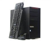 LenovoThinkStationP410XeonE5-1630v43.7GHz64GB512GB(SSD)1TB(HDD)ドライブ計2台構成QuadroP5000Windows10Pro64bit【中古】【20210811】