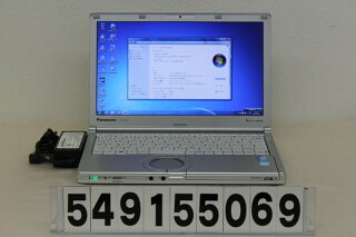 PanasonicCF-SX3EDHCSCorei5-1.9GHz/4G/320G/Multi/12.1W/Win7【中古】【20150929】