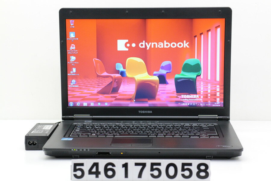 東芝 dynabook Satellite B552/H Core i7 3540M 3GHz/4GB/500GB/DVD/15.6W/FWXGA(1366x768)/Win7【中古】【20170609】:TCEダイレクト