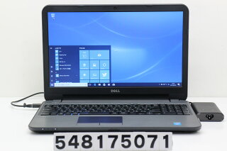 DELLLatitude3540Corei34030U1.9GHz/8GB/500GB/Multi/15.6W/FWXGA(1366x768)/Win10【中古】【20170811】