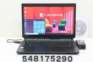 東芝dynabookR73/ACorei56300U2.4GHz/8GB/128GB(SSD)/13.3W/FWXGA(1366x768)/Win10【中古】【20170811】