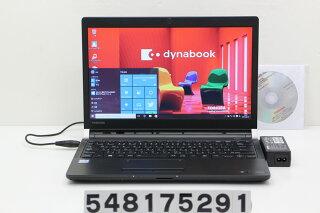 東芝dynabookR73/ACorei56300U2.4GHz/4GB/128GB(SSD)/13.3W/FWXGA(1366x768)/Win10【中古】【20170811】