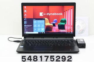 東芝dynabookR73/ACorei36100U2.3GHz/8GB/128GB(SSD)/13.3W/FWXGA(1366x768)/Win10【中古】【20170811】
