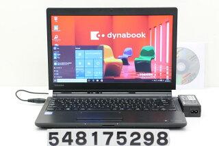 東芝dynabookR73/ACorei56300U2.4GHz/4GB/500GB/13.3W/FWXGA(1366x768)/Win10【中古】【20170811】