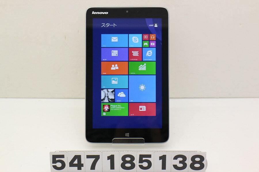 スマートフォン・タブレット, タブレットPC本体 Lenovo Miix 2 8 Atom Z3740 1.33GHz2GB64GB8WWXGA(1280x80 0) Win8.120180710
