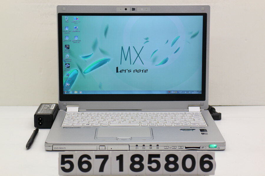 パソコン, ノートPC Panasonic CF-MX4EFCTS Core i5 5300U 2.3GHz4GB128GB(SSD)Multi12.5 WFHD(1920x1080) Win720180821