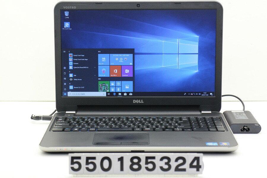 パソコン, ノートPC DELL Vostro 2521 Core i3 2375M 1.5GHz4GB320GBMulti15.6WFWXG A(1366x768)Win10 20190201