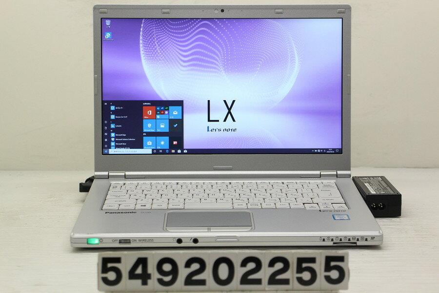 Panasonic CF-LX5PDEVS Core i5 6300U 2.4GHz/4GB/128GB(SSD)/14W/FHD(1920x1080)/Win10【中古】【20200929】